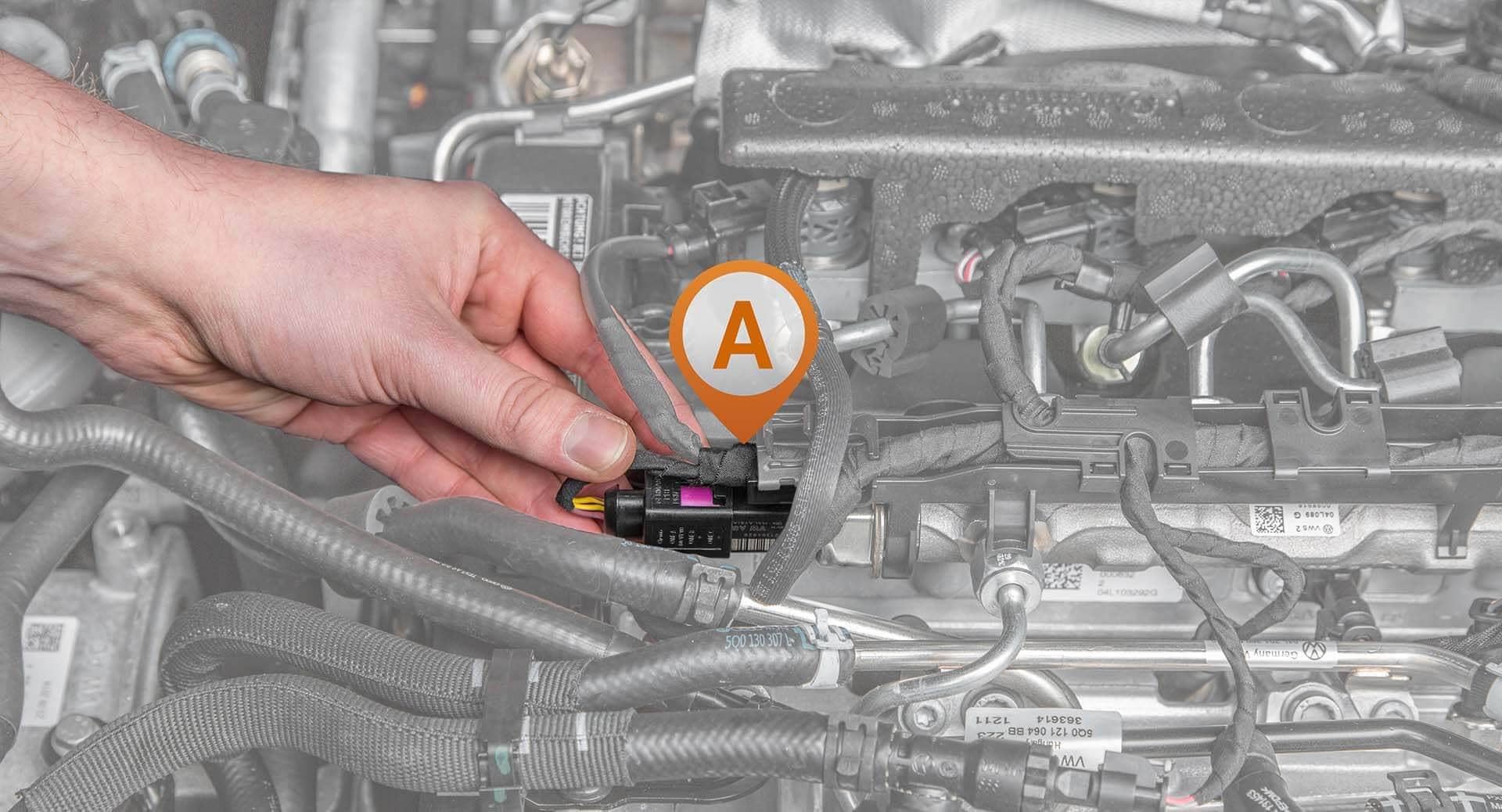 Chip Tuning Installation What You Need To Know About The Twin Turbo Mazda Wiring Harness Connection Common Rail Sensor A